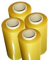 Stretch PVC films for packaging of foodstuff