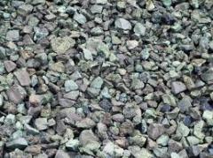 Slag ferroalloy (crushed stone)