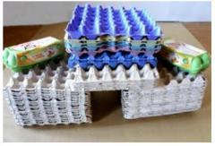 Упаковка для яиц картонная, Житомирский картонный