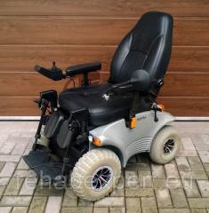 Коляска электрическая повышенной проходимости Meyra Optimus 2 Power Wheelchair Black Leather 12 Km/H