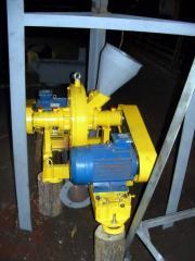 Линии для производства топливных брикетов (Солома до 35%) 500 кг/час