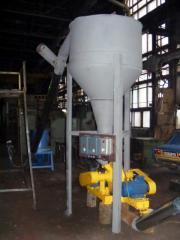 Линии для производства топливных брикетов (Солома до 75%) 500 кг/час