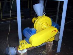 Линия для производства топливных брикетов (Отходы древесины диаметром до 60 мм, до 75%) 500 кг/час