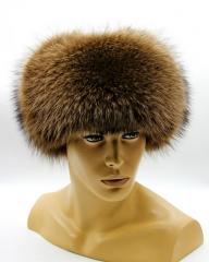 Меховая шапка ушанка мужская