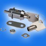 Lock mechanical the 17-28th (1 lock, 2 keys) 1