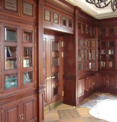 Декоративные панели для стен кабинета