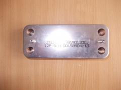 Теплообменник вторичный ГВС Zilmet  на 12 пластин