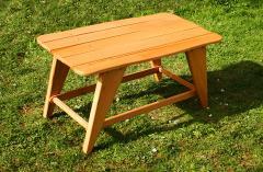 Столик деревянный для саун и дач
