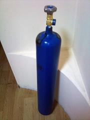 Cylinder of oxygen 10 l. GOST 949-73