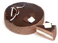 """Koláč TM """"CHARІVNITSYA"""" """"čokoláda"""" sušenka s kakaem, od kokosového oleje, který je potažen čokoládovým krémem. Hmotnost: 1 kg."""