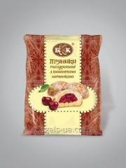 Pain d'épice glacé avec remplissage de cerise. Emballé - 190 g, la durée de vie de 4 mois. GOST