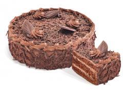 """케이크 """"송로 버섯""""스폰지 시럽에 담가. 무게 : 550g;. 1,100"""