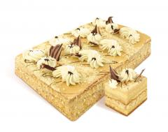 "Cake ""Svetlana"" biscuit of the air-nut"