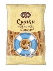 """Secagem chelnochok """"Flora"""". Embalagem - 300 g Feito a partir de massa de trigo doce. Ele não contém gorduras animais"""