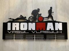 МЕДАЛЬНИЦА Ironman метал(крепление для медалей,