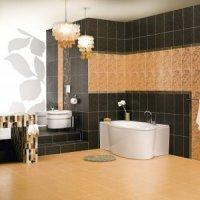 Плитка для ванною. CERSANIT Колекція - LIRYKA.