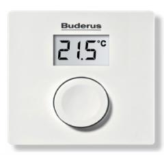 Базовый регулятор температуры  помещения Logamatic RC100 арт. 7738111018