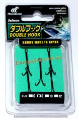 Двойник Hayabusa Double Hook №8 (5шт) паяный