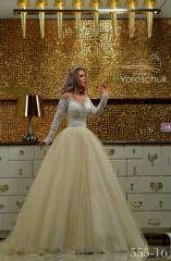 Wedding dress, model 555 (ballgown)