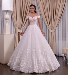 Wedding dress, model 627 (ballgown)