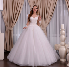 Wedding dress, model 619 (ballgown)