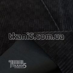 Fabric Zamsh obivochny (dark gray) 7133