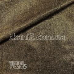 Fabric the Laser the hologram (gold on black) 7130