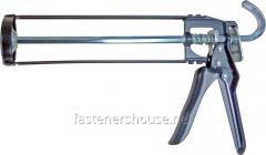 Пистолет д/герметика рамний чорний