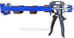 The gun under a chemical anchor of 600 ml 1:1