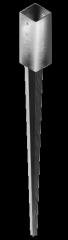 Наконечник колонны A-типу 50x50х150 L=600mm