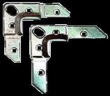 Уголок монтажный фланц. 75x19x2.5