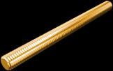 Стержень М6 1м латунь DIN975