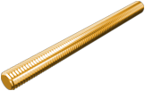Стержень М10 1м латунь DIN975