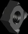 Гайка DIN928 М8 квадр приварная БП