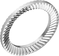 Шайба 8 пруж цб с насечкой тип VS D13 s1,1