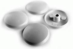 Крышка пластиковая белая KONFIRMAT