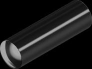 Штифт DIN7 10х50 цилиндр бп