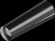 Штифт DIN1472 2, 5х16 конусн бп насіч/півдовж