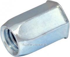 Гайка-RSHp М8/1-4 клеп 1/2 6гр зм.пот S11