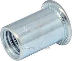 Гайка-RF М4/0,5-2,5 клеп пл D6