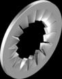 Шайба 6 стоп А2 внутр.зубцы DIN6798J