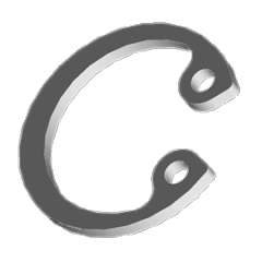 Кольцо стопорное DIN472 10 внутренний А2