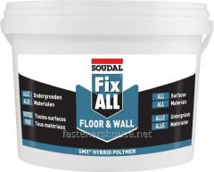 La cola-hermético FIX ALL Floor y - Wall