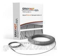 Нагревательный кабель двухжильный Gray Hot...