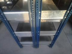 Half-internal racks
