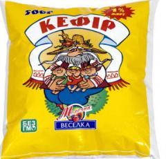 Kefir of 1% 0,5l Ukraine, kefir Molochn's