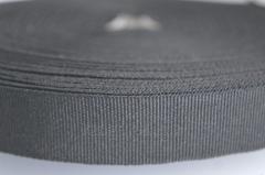Тесьма окантовочная полотняная, 2см черная