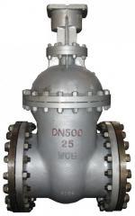 Poarta Wedge 30s15nzh PN40, DN 15. Managementul: un volan, cutie de viteze manuala, electrice, pneumatice