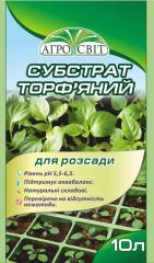 Agrosvit peat substrate for seedling