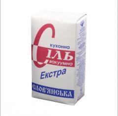 """Поваренная пищевая соль """" Экстра""""  в"""